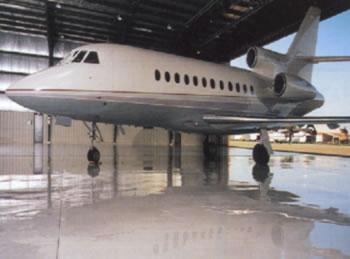 AIRCRAFT HANGAR FLOORING SYSTEMS