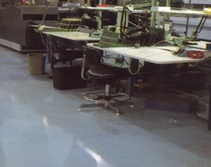 Conductive/Static Dissipative Flooring Systems