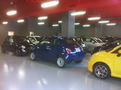 Automotive Showroom Flooring
