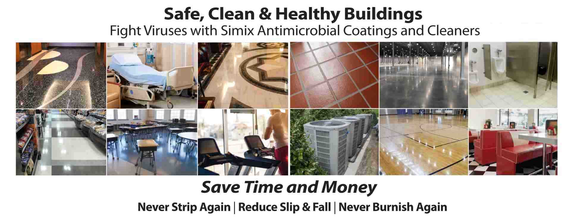 Fight Cornaviruses with Simix Clean and Sanitize all surfaces in one Step